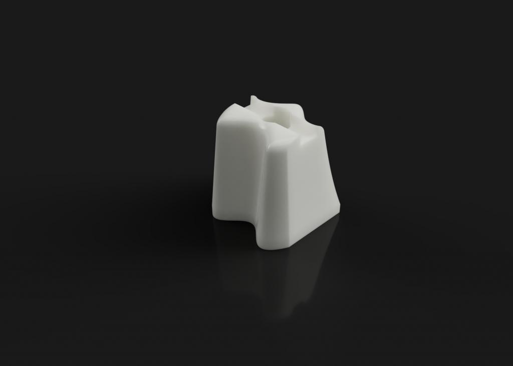 3D Druck Keramik - Mundstückplatzhalter aus us Zirconia Toughened Alumina (ZTA)